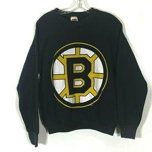Boston Bruins Vintage Sweatshirt 90's Big Logo